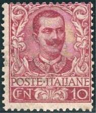** Italia 1901 Regno: FLOREALE EFFIGE cent.10  [71; MNH VF] Diena