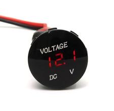 DC12V LED Panel Digital Voltage Meter Display Voltmeter Gauge Car Motorcycle New