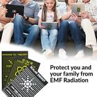 10x Anti Radiation EMR EMR Scalar Sticker Energy Saver Phones B1U2 Shields P1V0