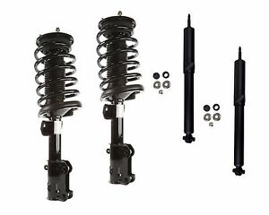 Full Set 2 Front Complete Struts 2 Rear Shocks Fit Ford Mustang 2011-2014