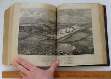 RARE Book 2 v w Prints History of Cornwall by Hitchins Drew 1817 Owned by FOX