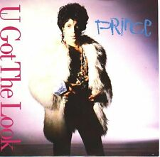"PRINCE U Got The Look PICTURE SLEEVE 7"" 45 rpm record + juke box title strip NEW"