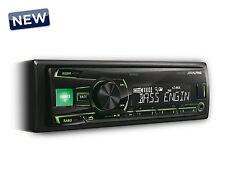 AUTORADIO ALPINE UTE-81R  USB AUX ILLUMINAZIONE VERDE