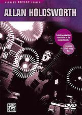 ALLAN HOLDSWORTH - GUITAR INSTRUCTION NEW DVD