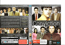 Conviction-2004-TV Series BBC UK-The Complete Series-2 Disc-DVD