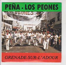 """PENA LOS PEONES Vinyl 45T 7"""" GRENADE SUR L'ADOUR Folklore BASQUE ESPAGNOL RARE"""