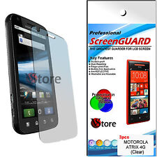 3 Films for Motorola Atrix 4G MB860 Screen Protection Dislay LCD Film