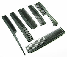 6 Piece Hair Styling  Comb Set fo rCombing Family Pack  plastic combs