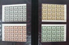 20 x Berlin Heinemann postfrisch großen Einheiten Bogenstücke Michel 640 Euro