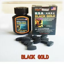 U.S.A. Black Gold - 1 Bottle = 16 Pills - Natural Male Enhancement Pills USA