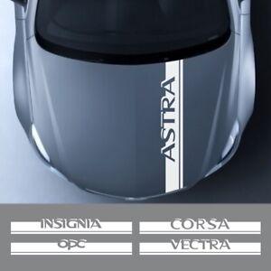 Opel OPC Astra J H G K Insignia Corsa D B E Mokka Vectra B Car Hood Cover