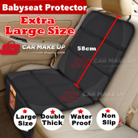 Universal PU Leather Car Seat Cover Front n Rear Seat Protector Cushion Headrest