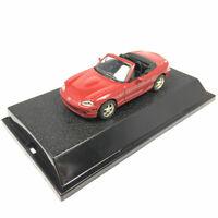 Mazda MX-5 Cabrio Sportwagen 1:43 Die Cast Modellauto Spielzeug Sammlung Rot