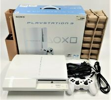 Sony PlayStation 3 PS3 Ceramic White 80GB Console NTSC-J JAPANESE TESTED BOXED