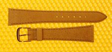 20mm SPEIDEL Leather MUSTARD Watch Strap Band MADE IN GERMANY <NWoT>