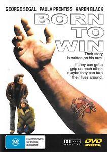Born To Win | | George Segal Paula Prentiss Karen Black -DVD -Music New