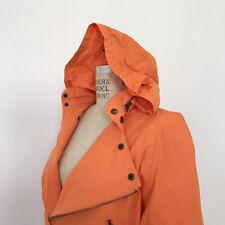 â• 80s Vintage Esprit Sport Puffer Biker Jacket : Orange post modern sweater punk