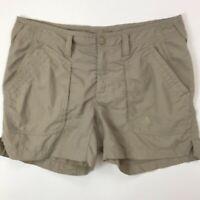 North Face Women's Khaki Shorts Size 12 Hiking