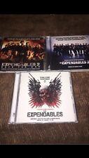 """Brian Tyler- 3 CD Bandas Sonoras Originales """"Los Mercenarios"""""""