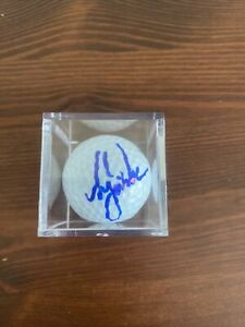 Tiger Woods Hand Signed Autographed  Golf Ball With COA