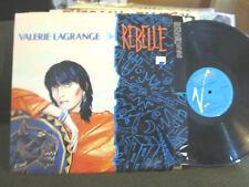 LP Pop Valerie Lagrange Rebelle VIRGIN FRANCE '85 new wave synth orig w/lyric!!