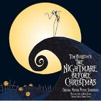 NIGHTMARE BEFORE CHRISTMAS  CD ORIGINAL SOUNDTRACK/FILMMUSIK NEU
