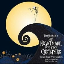 Nightmare Before Christmas CD ORIGINAL SOUNDTRACK/COLONNA SONORA NUOVO