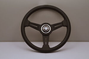 NARDI Classic 330MM Leather Grey Stitch Steering Wheel - 6061.33.2001 IN STOCK!