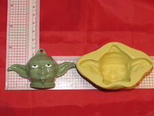 Star Wars Galaxy Wars Character Mold Silicone Chocolate Resin Clay Cake Pop 114