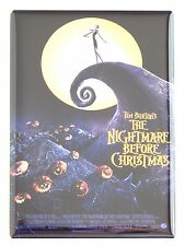 The Nightmare Before Christmas Fridge Magnet (2.5 x 3.5 inches) movie poster