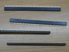2mm pitch 40 Pin SIL Socket 40 Way SIP strip female