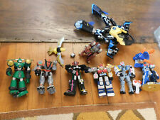 HUGE LOT Vtg Power Rangers Lost Galaxy Mini Megazord Action Figures Bandai 1998