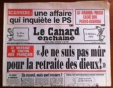 "Le Canard Enchaîné 11/9/1991; La ""grande presse"" cache son Porno-Business"