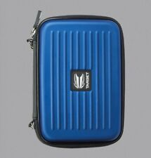 BLUE TARGET TAKOMA XL HARD SHELL DART CASE WILL HOLD 2 SETS FULLY LOADED DARTS