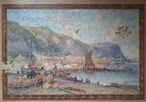 Vintage Wooden Jigsaw 1940s
