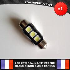 Ampoule Navette LED 3 SMD C5W 36mm ANTI SANS ERREUR CANBUS Plafonnier Plaque