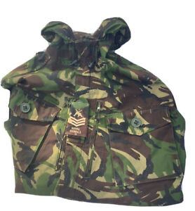 British Army Issue Combat Smock Combat Wind proof Woodland DP Camouflage Jacket