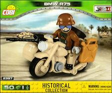 COBI BMW R75 Sahara (2397) - 50 elem. - WWII German motorcycle and sidecar