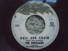The Shoelaces Work Song Ball and Chain Brite Leaf 4065 VG