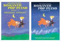 Romantic Pop Piano - Traummelodien für Klavier in leichten Arrangements