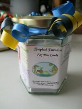 Tropical Paradise Scented Soy Wax Candle 300g