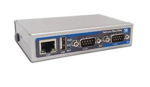 VSCom Netcom Plus 211 2 Port RS232 Ethernet to Serial Adapter