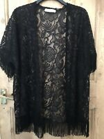 Abercrombie & Fitch Black Lace Top 12/14/16 Fancy Dress 1920s Charleston