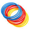 12PCS Multi Color Innovations Speed and Agility Training Rings Soccer I7Q7