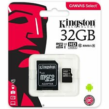 Kingston Canvas Select 32GB Class 10 microSDHC TF Memory Card SDCS/32GB