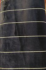 Egerton Pinstripe Navy Fabric / Material , Ralph Lauren Signature , Modern...