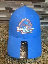 NEW NIKE BOISE STATE BRONCOS FLEXFIT LEGACY 91 HAT/CAP!  BSU BLUE!  OSFA!