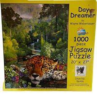 Jigsaw Puzzle Day Dreamer Leopoard Jungle by Wayne Weberbauer1000 Piece