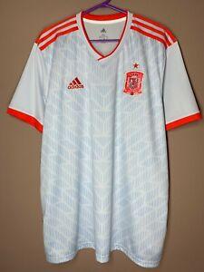 Spain Espana 2018-2019 Away Football Soccer Shirt Jersey Camiseta size XL