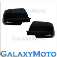 07-15 Toyota Tundra CrewMax Double Cab Gloss Black Full Mirror Cover Pair